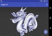 3D Model Viewer Bureautique