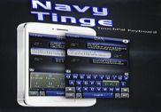 Navy Tinge Keyboard Theme Bureautique