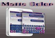 Matte Color Thème pour clavier Bureautique