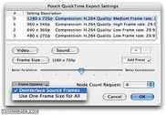 Pooch QuickTime Exporter Multimédia