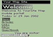 Wap Portal Server PHP