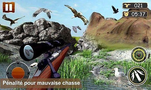 Africaine de chasse d'oiseaux