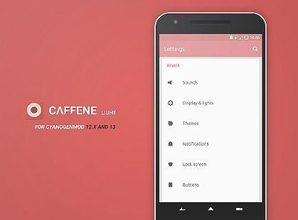 Caffene Light CM12/13 Theme