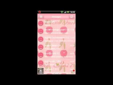 Theme Cherries for GO SMS Pro