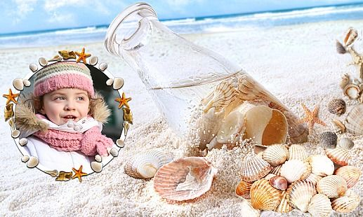 Shell Photo Frames