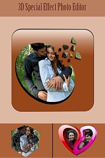 3D Special Effects Photo Editor