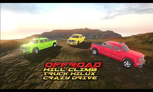 Offroad Hill Climb Truck Hilux Crazy Drive