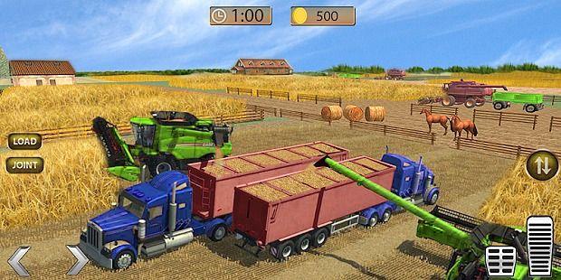 Véhicule tracteur agricole réel 2017