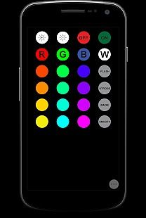 RGB IR Remote For Light Bulb