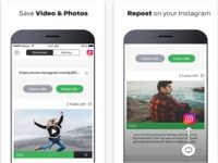 Video and Photo Downloader for Instagram iOS