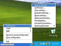 NonVisual Desktop Access