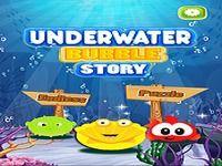 Histoire de bulles sous l'eau