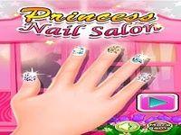 Jeux de filles Nail salon
