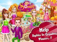 Le magasin de fleurs de Sophia