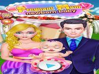 Mom jeux de bébé nouveau-né