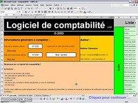 Logiciel de comptabilité sur Excel