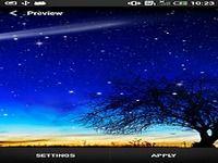 Nuit Étoilée Fond d'écran