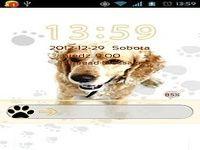 Cute Dog v2 - GO Locker Theme
