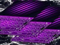 Violet Free Theme for Keyboard