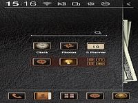 Leather Wallet Atom Theme