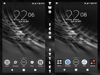 Dark Desire Black Theme For Xperia