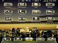 GoldAge Next Launcher 3D Theme