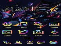 Color Run Go Launcher Theme