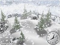 Snow Dance 3D Screensaver