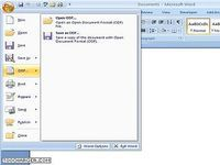 ODF Add-in for Microsoft Word