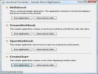 Java Excel Connector