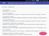 Engineering Dictionary Offline Technical terms