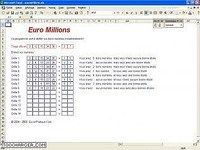 Utilitaire Euro Millions
