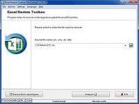 Excel Restore Toolbox