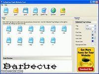 CoffeeCup Flash Website Font