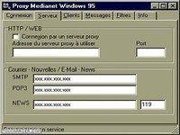 Serveur Proxy Médianet
