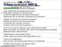 Diaporama MP3