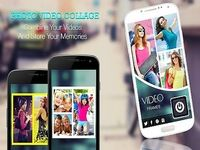 Collage vidéo: Photo Video Collage Maker + Music