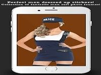 Police Suit Photo Maker Woman