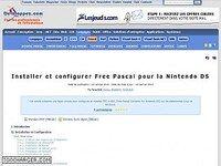 Installer et configurer Free Pascal pour la Nintendo DS
