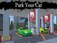 Sport voiture station d'essence parking simulateur