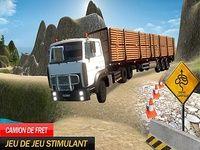 Moto cargaison un camion au volant Jeux