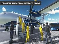 Police Airplane Transporter 3D