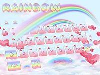 Amour Rainbow clavier Theme Love Rainbow