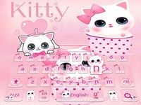 Chat mince kitty Clavier Thème