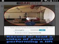 BarSense Weight Lifting Log