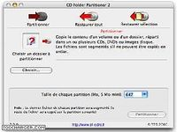 CD Folder Partitioner