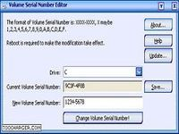 Volume Serial Number Editor