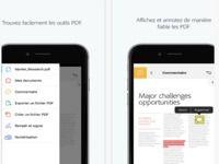 Adobe Acrobat Reader pour iOS