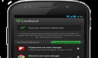 Lookout Antivirus et Sécurité Android