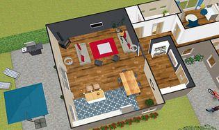 kozikaza plan 3d t l charger gratuitement la derni re version pour mac. Black Bedroom Furniture Sets. Home Design Ideas